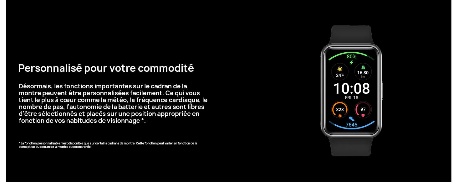Huawei Watch Fit Elegant Prix Tunisie